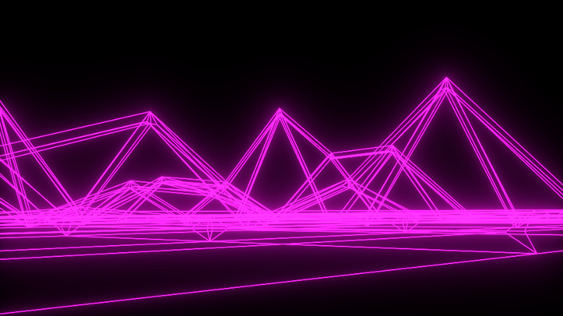 Glowing Wireframe